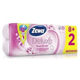 "Zewa бумага туалетная ""Делюкс"" 3-ех слойная с ароматом орхидеи"