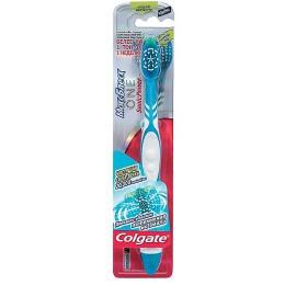 """Colgate зубная щетка """"Максимальный Блеск One Sonic Power"""" средняя, питаемая от батарей, 1 шт"""