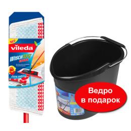 """Vileda швабра """"Экстра"""" с телескопической ручкой + ведро"""