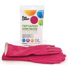 Fun Clean перчатки хозяйственные суперэластичные XL