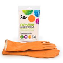 Fun Clean перчатки хозяйственные универсальные XL