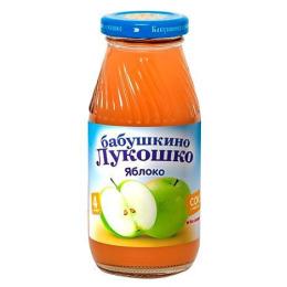 "Бабушкино Лукошко сок ""Яблочный"" с 4 месяцев, 200 мл"