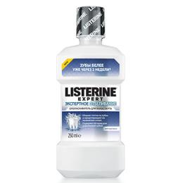 """Listerine ополаскиватель для полости рта """"Экспертное отбеливание"""", 250 мл"""