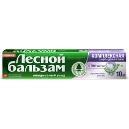 Лесной бальзам зубная паста с биогранулами, 75 мл