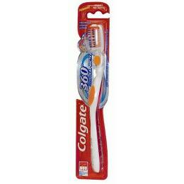 """Colgate зубная щетка """"360 Глубокая чистка"""", средняя жесткость, 1 шт"""