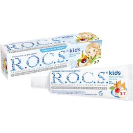 """R.O.C.S. зубная паста """"Фруктовый рожок"""" для детей без фтора, 45 г"""