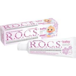 """R.O.C.S. зубная паста """"Аромат липы"""" для малышей, 45 г"""
