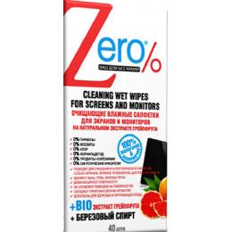 Zero салфетки влажные  для экранов и мониторов