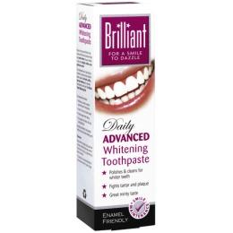 Brilliant зубная паста отбеливающая, 100 мл