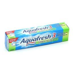 """Aquafresh паста """"3+ Мягко-Мятная"""", 50 мл"""