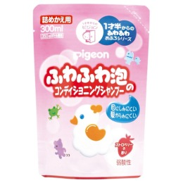 Pigeon Шампунь-пенка для детей 18+ мес. сменный блок 300 мл