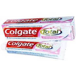 """Colgate Зубная паста-гель """"Total12"""" профессиональная чистка."""
