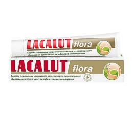 """Lacalut зубная паста """"Флора"""", 50 мл"""