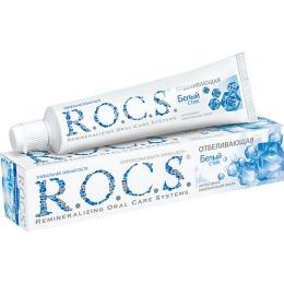 """R.O.C.S. зубная паста """"Отбеливающая"""", 74 г"""