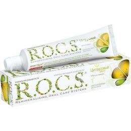 "R.O.C.S. зубная паста ""Мята и лимон"", 74 г"