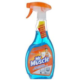 Мистер Мускул чистящее и моющее средство для стекол и других поверхностей со спиртом, триггер