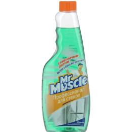 Мистер Мускул чистящее и моющее средство для стекол с нашатырным спиртом