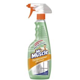 Мистер Мускул чистящее и моющее средство для стекол с нашатырным спиртом триггер