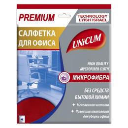 Unicum салфетка для офиса микрофибра 40 х 40 см