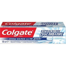 """Colgate Зубная паста """"Комплексное отбеливание""""."""