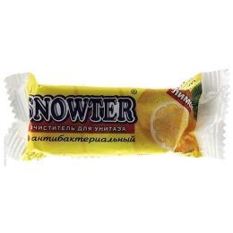 """Snowter очиститель для унитаза """"Лимон"""" запасной блок"""