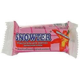 """Snowter очиститель для унитаза """"Цветочный"""" запасной блок"""