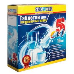 Snowter таблетки для посудомоечных машин