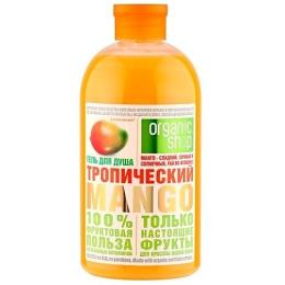 """Organic Shop гель для душа """"Тропический манго"""", 500 мл"""