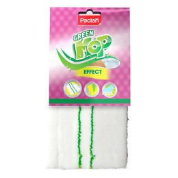 "Paclan насадка ""Green Mop"" плоская из микрофибры для швабры, 1 шт"