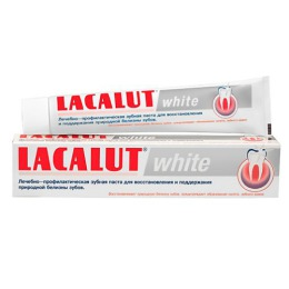"Lacalut Зубная паста ""White"", 75мл"