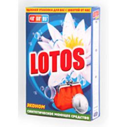 """Lotos стиральный порошок """"Эконом"""" коробка"""