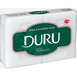 "Duru хозяйственное мыло ""Clean & White"" классическое, 2 х 115 г"