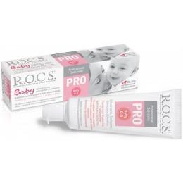 """R.O.C.S. зубная паста """"PRO.Baby"""" Минеральная защита и нежный уход, 45 г"""