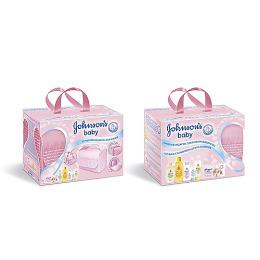 "Johnson`s baby набор детский ""Мамина сумка"" розовая"