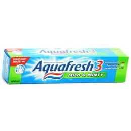 "Aquafresh зубная паста ""3+ Мягко-мятная"", 125 мл"