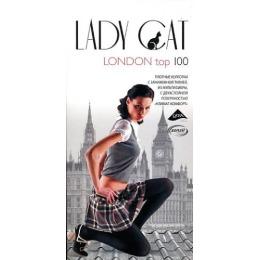 """Lady Cat колготки """"London Top 100"""" черные"""