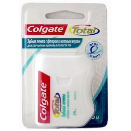 Colgate зубная лента со фтором и мятным вкусом, 25 м.