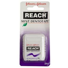 """Reach зубная лента """"Dentotape"""" вощеная мятная, 20 м."""