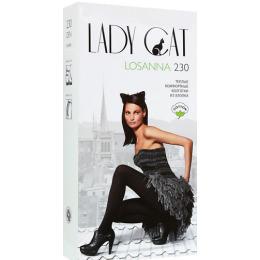"""Lady Cat колготки """"Losanna 230"""" черные"""