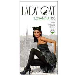 """Lady Cat колготки """"Losanna 300"""" черные"""