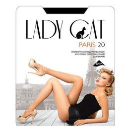 """Lady Cat колготки """"Paris 20"""" черные"""