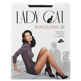 """Lady Cat колготки """"Barcelona 20"""" черные, 2 пары"""