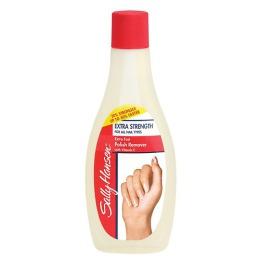 """Sally Hansen жидкость для снятия лака """"Extra Fast Polish Remover суперукрепляющая для всех типов ногтей"""", 5 мл"""
