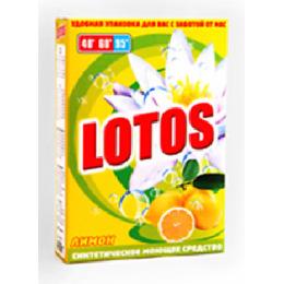 """Lotos стиральный порошок """"Лимон"""" коробка"""
