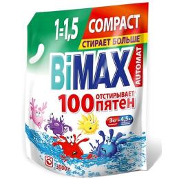 """Bimax порошок стиральный """"Compact 100 пятен"""" автомат"""