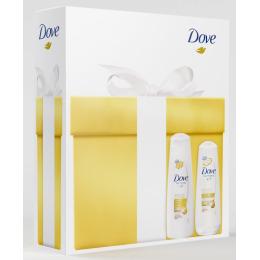 """Dove набор """"Питающий уход"""" шампунь, 250 мл + бальзам, 200 мл"""