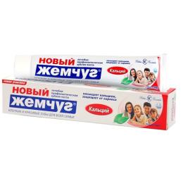 """Новый Жемчуг зубная паста """"Кальций"""""""
