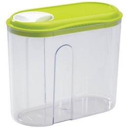 Бытпласт емкость для сыпучих продуктов с дозатором 15.5*8*13.5 см, 1 л