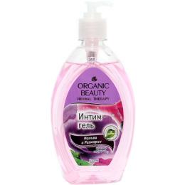 """Organic beauty гель для интимной гигиены """"Мальва и розмарин"""""""