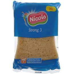 """Nicols губка """"Strong 3"""" универсальная большая для домашних и строительных работ"""